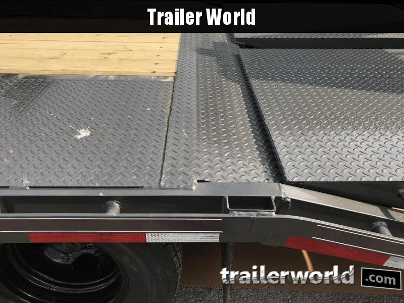 2019 Diamond C FMAX212 32' Gooseneck Flatbed Equipment Trailer 25.9k GVWR