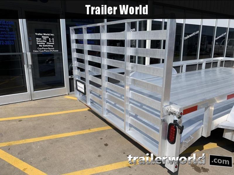 2019 Trailer World Aluminum 16' Utility Trailer
