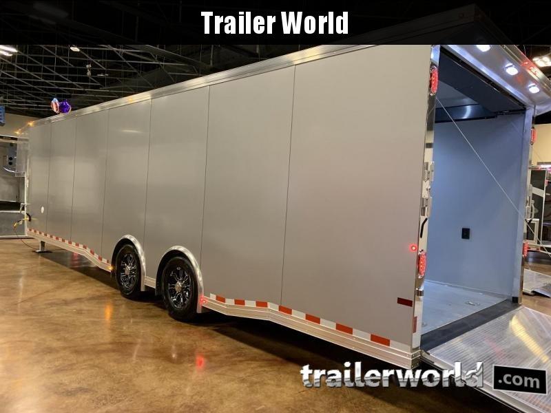 2020 Sundowner 36' Gooseneck Race Model Aluminum Car Trailer