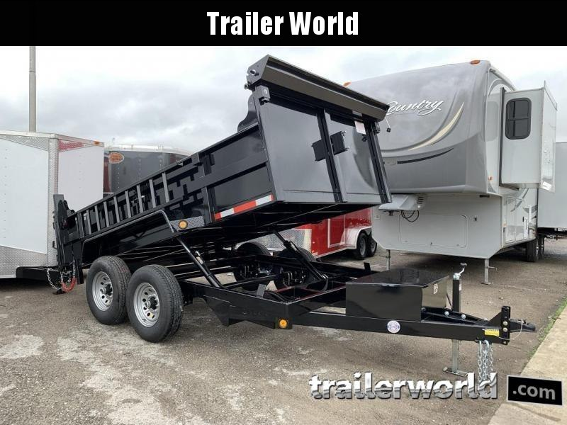 2020 QS 12' Dump Trailer 12K GVWR w/ Ramps & Tarp in Ashburn, VA