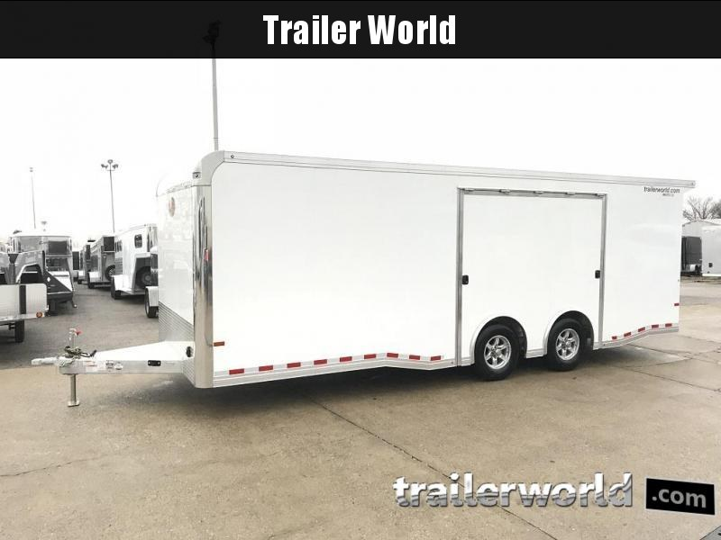 2019 Sundowner 24' Aluminum Enclosed Trailer w Full Access Door
