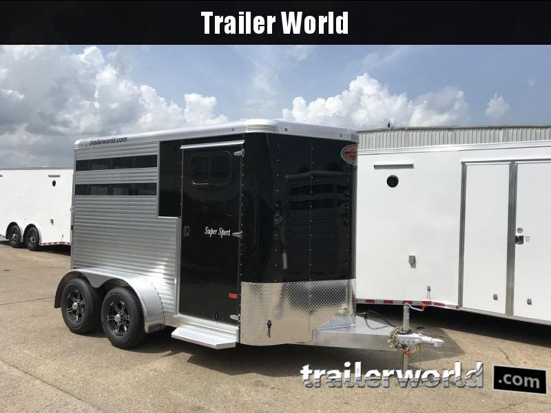 2019 Sundowner Super Sport 2 Horse Bumper Pull Trailer Slant Load