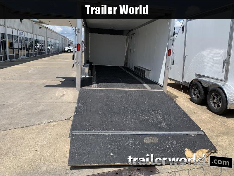 2018 Alcom EZ Hauler Aluminum 20' Enclosed Car / Racing Trailer
