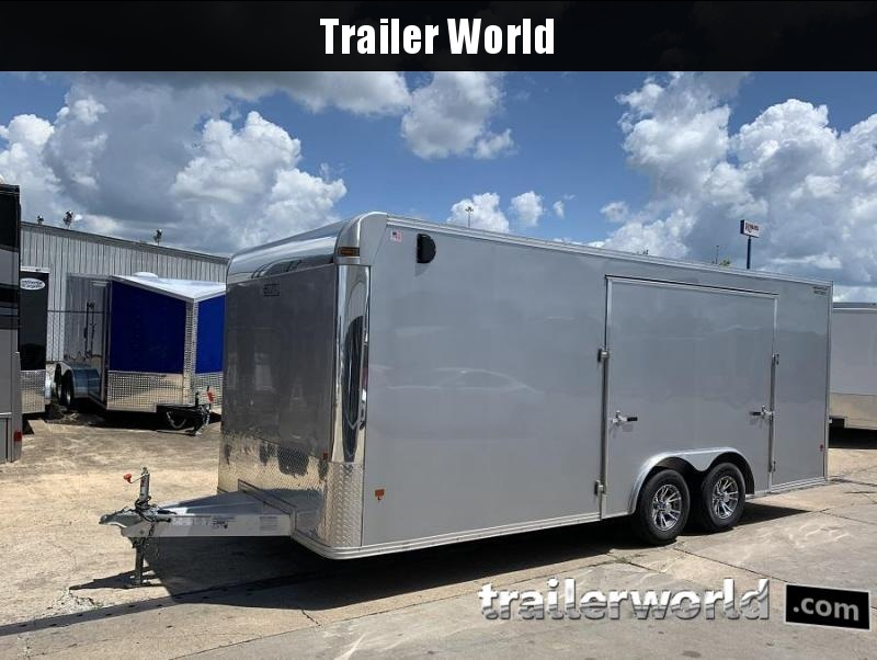 2018 Alcom EZ Hauler Aluminum 20' Enclosed Car / Racing Trailer