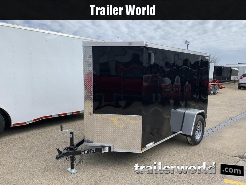 2019 Lark 5' x 10' x 5.5' Cargo Vnose Cargo Door Trailer