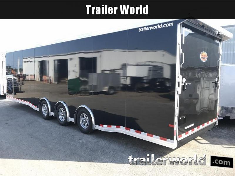2019 Sundowner 32' Spread Axle Car Aluminum Race Trailer