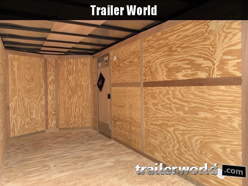 2020 Continental Cargo 7' x 12' x 6.3' Vnose Enclosed Cargo Trailer