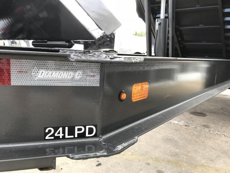 2019 Diamond C LPD 14' Dump Trailer Low Profile Commercial Grade