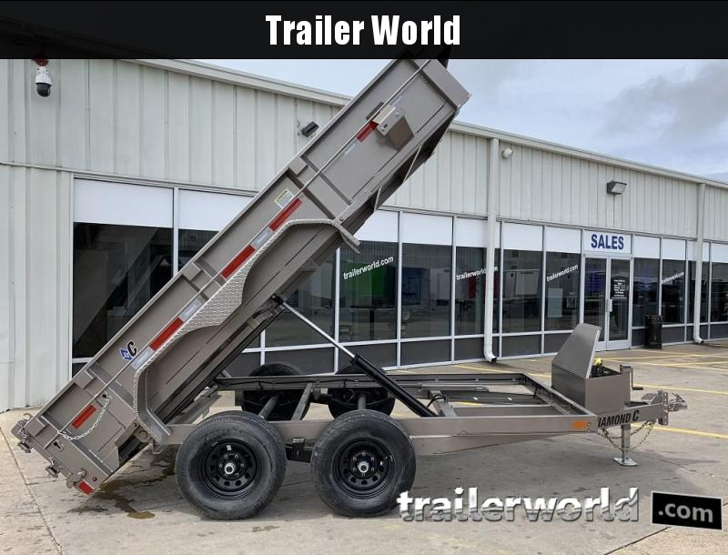 2019 Diamond C EDM 77x12 Dump Trailer