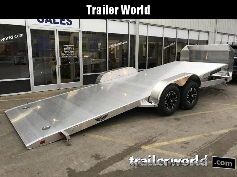 2020 Aluma 21.5' Aluminum Tilt Bed Open Car Hauler Trailer 10k GVWR