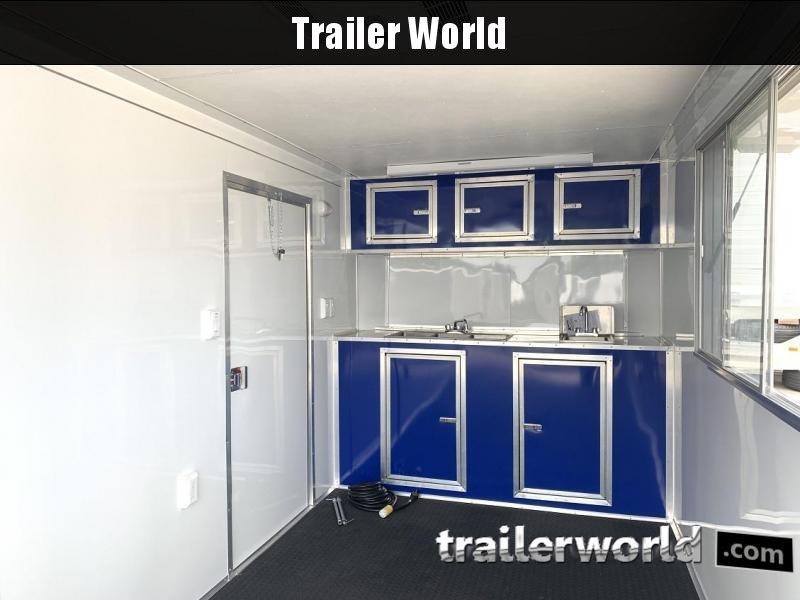 2019 CW 7' x 16' x 7'  Vendor / Concession Trailer