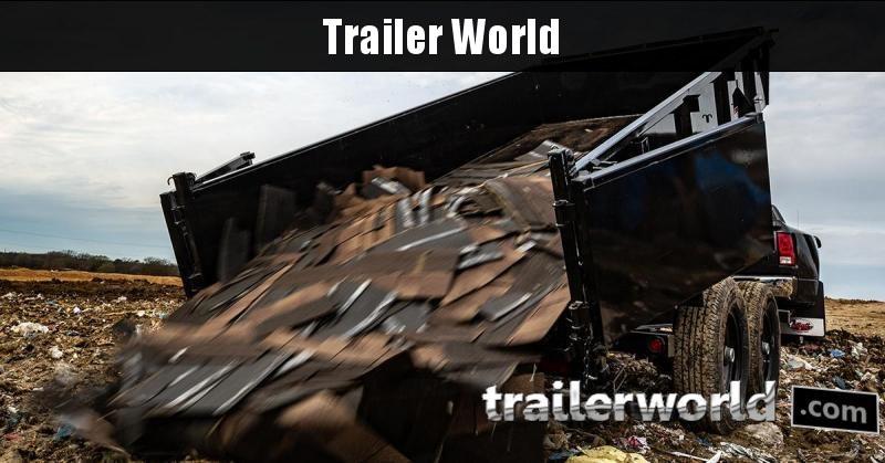 2020 Big Tex Trailers 14LP-14' Low Profile Dump Trailer w/ TARP