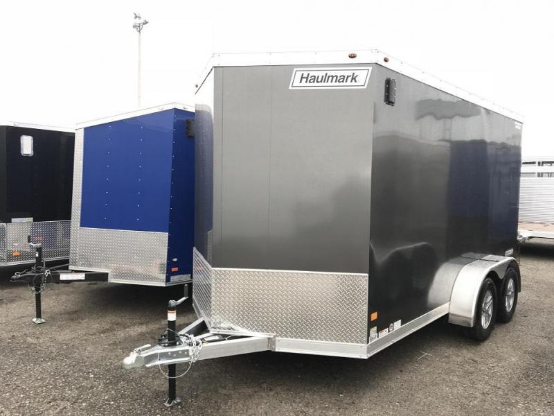 2019 Haulmark HAUV7x14WT2 7' x 14' x 7' Aluminum Enclosed Cargo Trailer