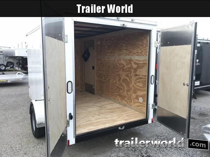 2019 Continental Cargo 6' x 12' Double Door Enclosed Cargo Trailer