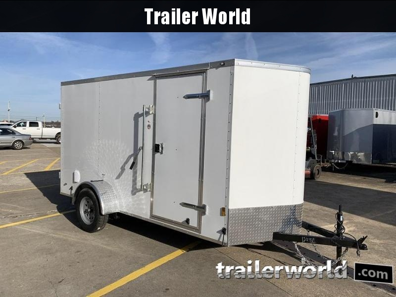 2019 Continental Cargo 6' x 12' Double Door Enclosed Cargo Trailer
