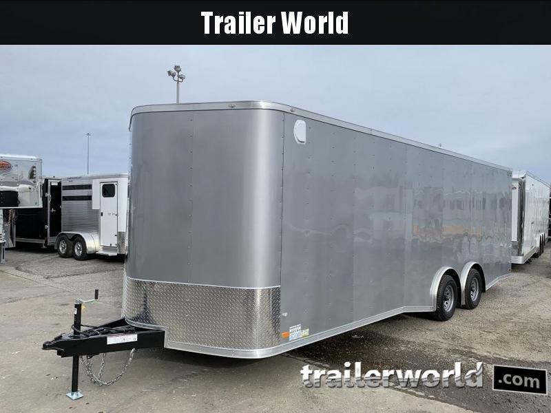 2019 CW 24' Spread Axle Car Trailer 7' Tall 10k GVWR