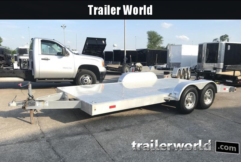 2009 Trailer World 18' Aluminum Heavy Duty Open Car Hauler Trailer