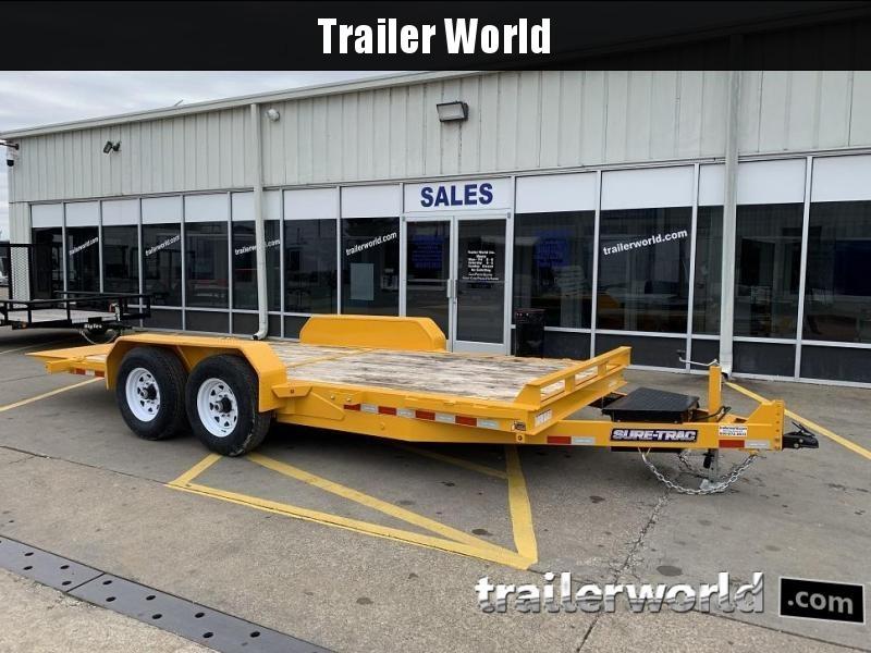2019 Sure-Trac 18' Tilt Bed Equipment Trailer 14k GVWR