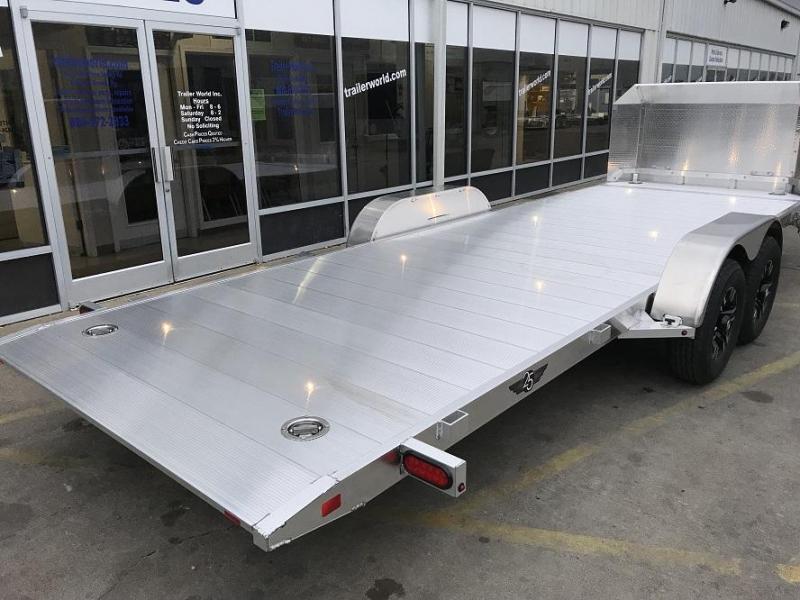 2019 Aluma 21.5\' Aluminum Tilt Bed Open Car Hauler Trailer 10k GVWR ...