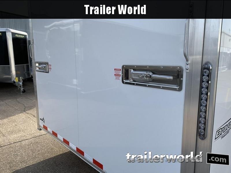 2020 Bravo Star 24' Aluminum Enclosed Car Trailer Show Car Pkg