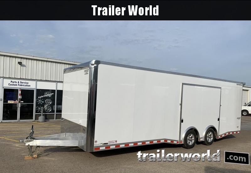 2020 Bravo Star 24' Aluminum Enclosed Car Trailer Show Car Pkg