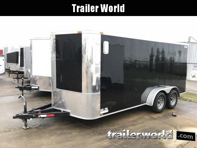 "2018 ARI 7' x 16' x 6'3"" Vnose Enclosed Cargo Trailer"