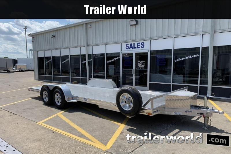 2020 Sundowner 4000AP - 22' Aluminum Open Car Hauler Trailer