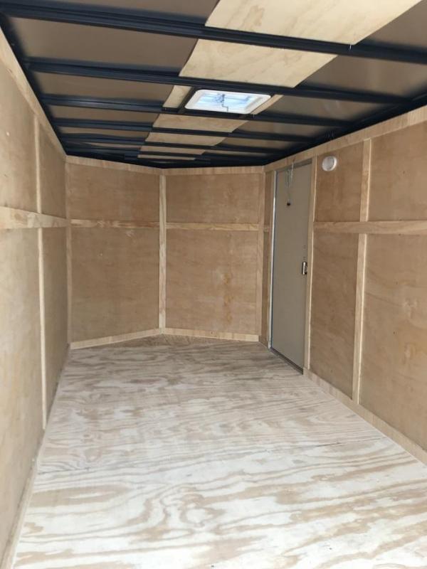 "2019 CW 7' x 14' x 6'6"" Vnose Enclosed Cargo Trailer"