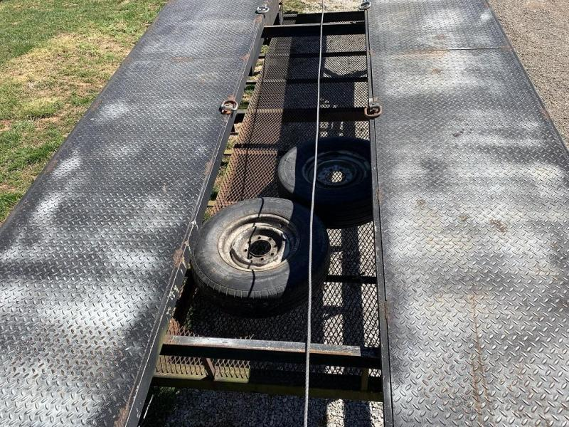 2000 Kaufman 50' 3 Car Trailer w/ Winch