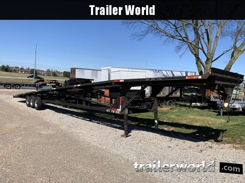 2000 Kaufman 50' 3 Car Trailer w/ Winch in Ashburn, VA