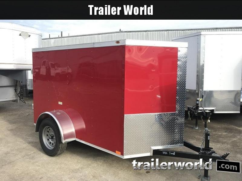 2019 Cargo 5' x 8' Enclosed Cargo Trailer