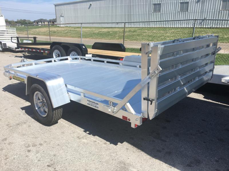 2020 Aluma 7712H BT 12' Aluminum Utility Trailer