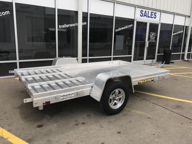 2019 Aluma 6810 10' Aluminum Utility Trailer