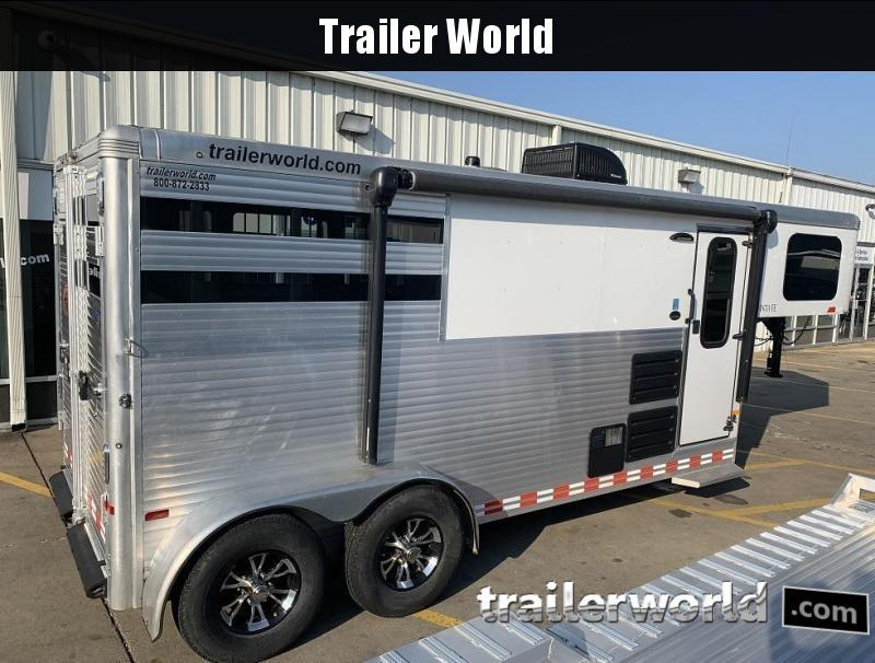 2016 Sundowner Trailers Sante Fe 2 Horse Trailer