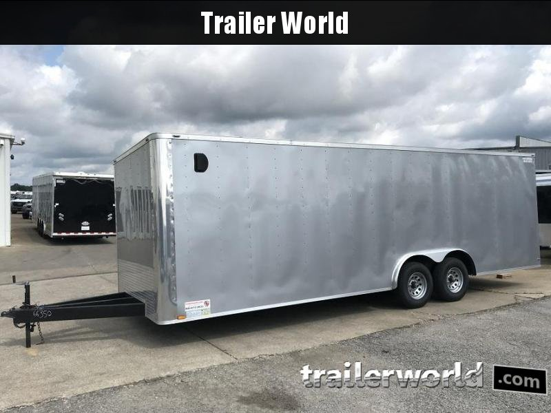 2018 Lark 24' Enclosed Car Trailer 10k GVWR