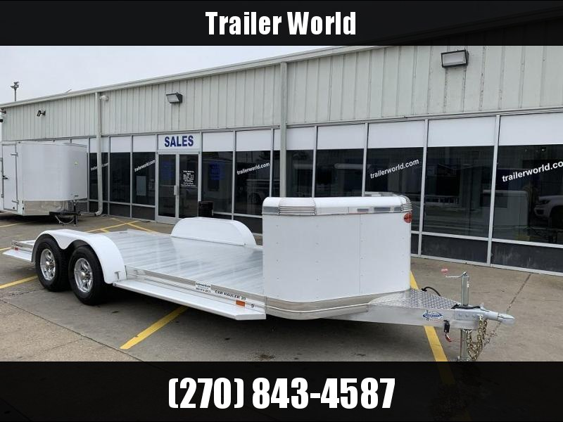 2019 Sundowner 20' Aluminum Tapered Front Open Car Hauler Trailer