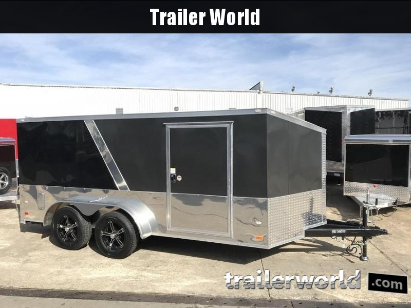 2018 CW 7' x 14' x Low Hauler Vnose Enclosed Trailer