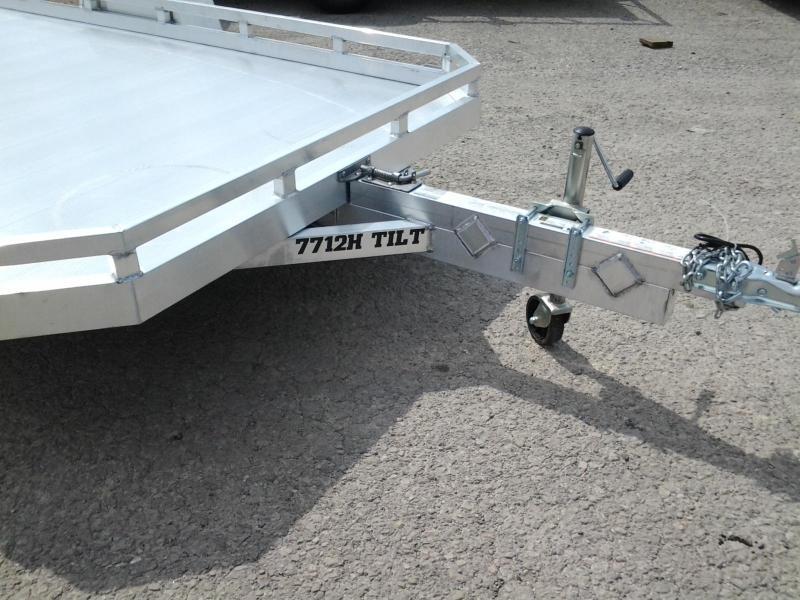 2020 Aluma 7712H 12' Tilt Aluminum Utility Trailer