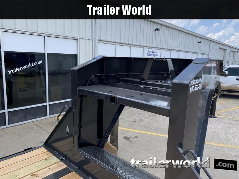 2019 Diamond C FMAX212 35' Hydraulic Dovetail Gooseneck Trailer 25900GVWR