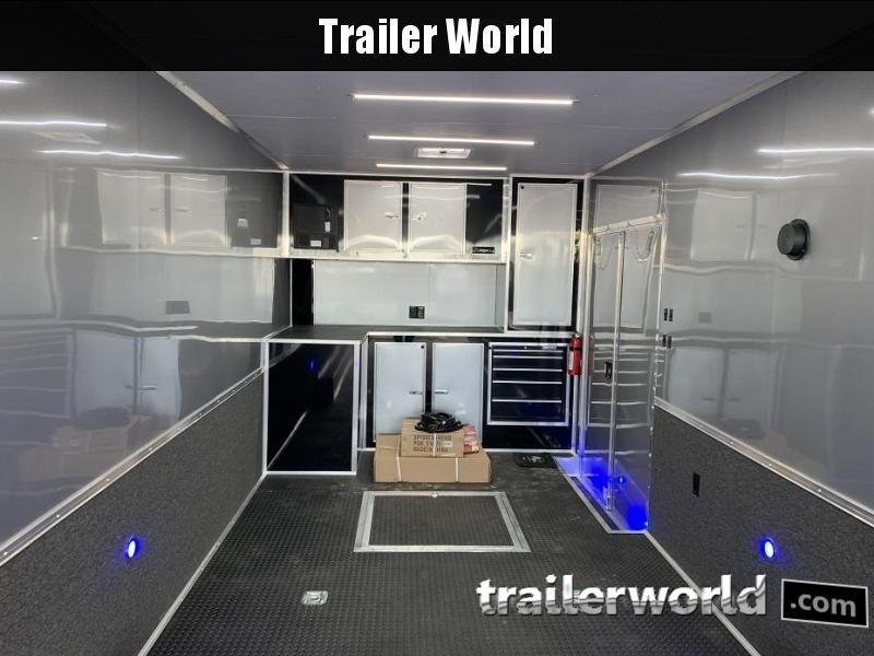 2019 Cargo Mate Eliminator 32' Race Trailer