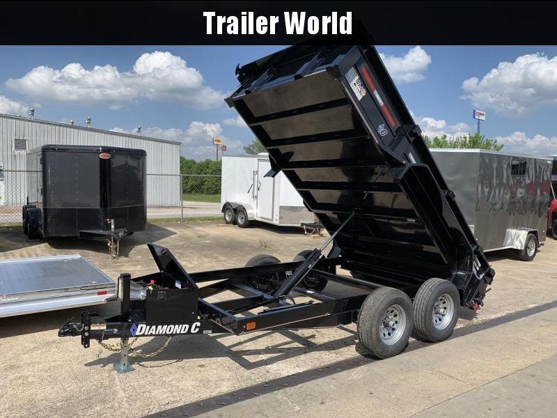 2019 Diamond C EDM 77 x 12' Dump Trailer 10k GVWR