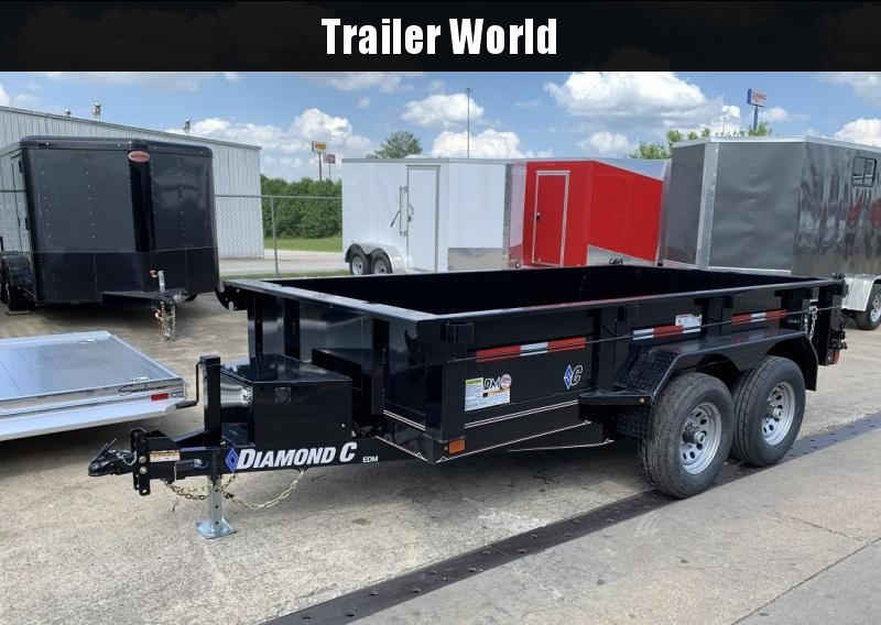 2019 Diamond C EDM 77 x 12' Dump Trailer 10k GVWR