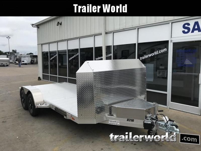 2020 Aluma 8216 Aluminum Open Car Trailer Anniversary Edition