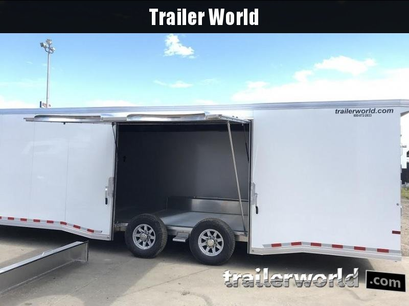 2019 Sundowner 28' Spread Axle Car Aluminum Race Trailer w/ Full Access R/S Door