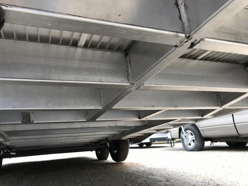 2019 Sundowner 28' Spread Axle Car Aluminum Race Trailer w/ Full Access R/S Door