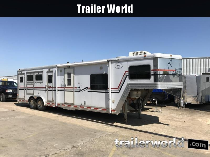 2000 Cato LQ 3 Horse Living Quarters Trailer in Ashburn, VA
