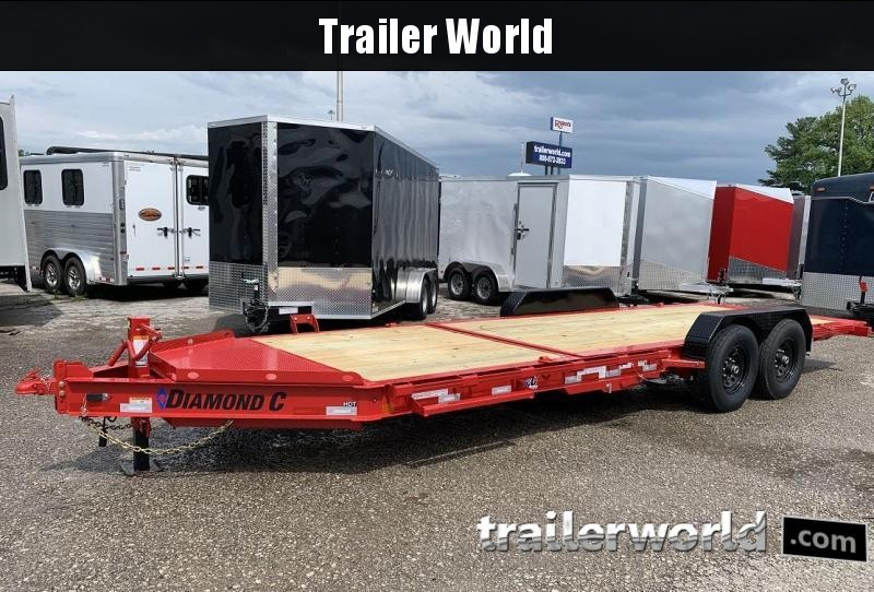 2019 Diamond C HDT 22' w/ 16' Tilt-Bed Equipment Trailer 7 Ton