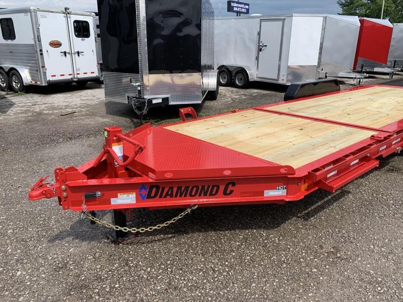 2019 Diamond C HDT 22' w/ 16' Tilt-Bed Equipment Trailer 7 Ton