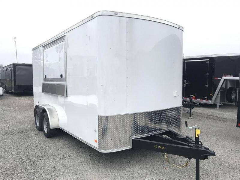 2019 CW 7' x 16'  x 7' Vending / Concession Trailer