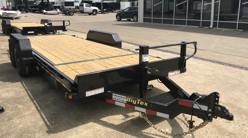 2019 Big Tex 14TL-22' 16' Tilt + 4' Equipment Trailers